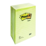 Post-it Yellow Notes 102x152mm Ruled 660
