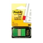 Post-it Index Tab 25mm Green Pk12