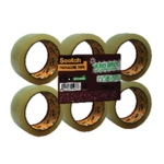Scotch 50mmx66m Clear Packaging Tape