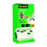 Scotch Magic Tape 19mm Pk12 Rolls/FOC
