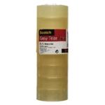 Scotch Easy Tear 19mmx33m Clear Tape Pk8