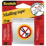 Scotch Packaging Tape Hand Tearable 50mm