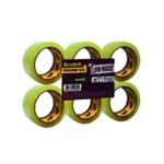 Scotch Low Noise Tape 48mmx66m 3707 Pk6