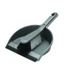 Addis Soft Dustpan Brush Set Metallic