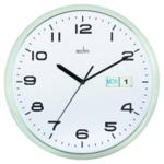 Acctim 320mm Chrome/White Wall Clock