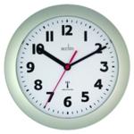 Acctim Parona Silver RC Wall Clock
