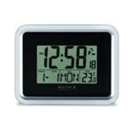 Acctim Lancia RC Desk/Wall Clock Sil/Wht