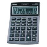 Aurora Grey/Black 12-dig Semi-Desk Calc