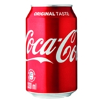 Coca-Cola Drink 330ml Cans Pack of 24
