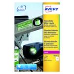 Avery Hvy Duty Laser Label White Pk40