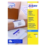 Avery J8169-25 QuickDRY Inkj Label P100