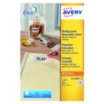 Avery L4732REV-25 Removable Labels P2000