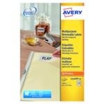 Avery L4736REV-25 Removable Labels Pk625