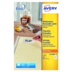 Avery L4743REV-25 Removable Labels Pk300