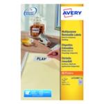 Avery Laser Mini Labels Wht Pk4725