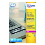 Avery Hvy Duty Laser Label Silver Pk540