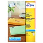 Avery J8560-25 Inkjet Labels Clear Pk525