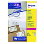 Avery L7163-40 Laser Labels White Pk560