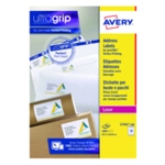 Avery L7161-100 Laser Labels White P1800