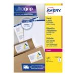 Avery L7166-100 Jam-Free Labels Wht P600