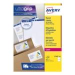 Avery L7168-100 Jam-Free Labels Wht P200