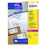Avery L7173-100 Laser Labels Wht Pk1000