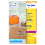 Avery L7565-25 Laser Labels Clear Pk200