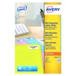 Avery Mini 35 Slide Labels White Pk2100