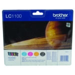 Brother LC1100 Colours Ink Value Pack