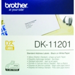 Brother Black/White Address Labels Pk400