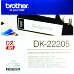 Brother Black/White Cont Paper Tape 62mm
