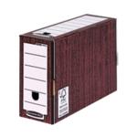 Fellowes Woodgrain Prem Trnsfr File Pk10