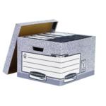 Fellowes Storage Box Grey System Pk10
