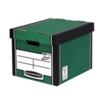 Fellowes Grn/Wht Prem Presto Storage Box