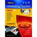 Fellowes A4 Laminating Pouch 250mic P100