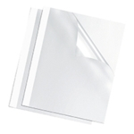 Fellowes Thermal Bind Covers 6mm Pk100 (^)