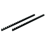 Fellowes 12mm Black Binding Comb Pk100