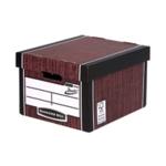 Fellowes Presto Storage Box Woodgrain