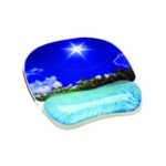 Fellowes Photo Gel Beach Mouse Pad/Rest