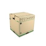 Fellowes Moving Box Large Brwn/Grn Pk5