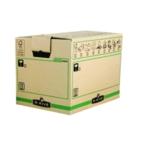 Fellowes X-Lrg Brwn/Grn Moving Box Pk5