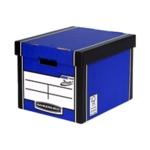 Fellowes Blu/Wht Presto Storage Box Pk12
