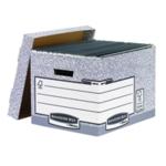 Fellowes Grey Storage Box Pk10 00810FF