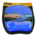Fellowes Crystal Blue Gel Mouse Pad