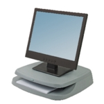 Fellowes Basics Graphite Monitor Riser