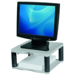 Fellowes Premium Platinum Monitor Riser