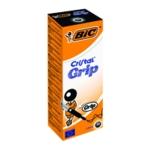 Bic Cristal Grip Ball Pen Med Black Pk20
