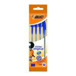Bic Blue Cristal Ball Point 4 Pen Pk40