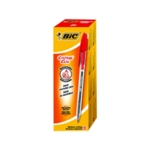 Bic Cristal Clic Red Rtrct Ball Pen Pk20