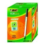 Bic Ecolutions Ball Pen Med Blk Pk60